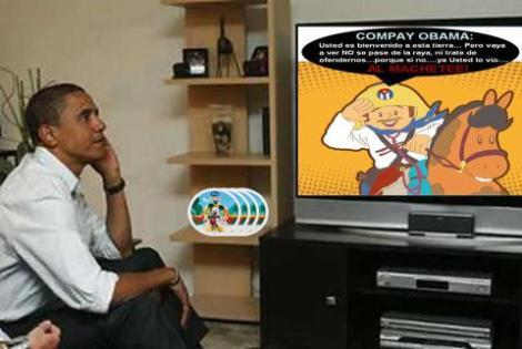 Obama ya sabe quién es Elpidio Valdés