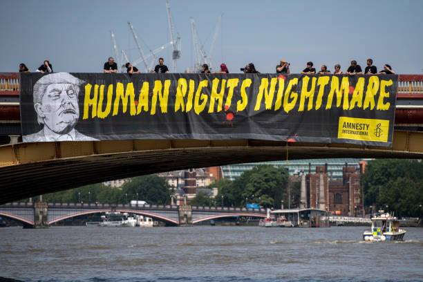 donald Trum Derechos Humanos