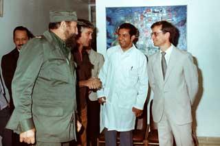 Resultado de imagen de fidel castro Ruz en la biotecnología cubana